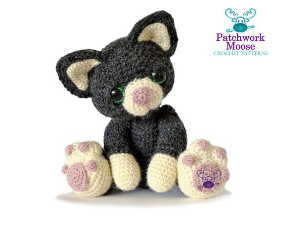 Kitten Cat Amigurumi Crochet Pattern PDF Instant Download