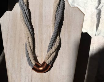 Twisted Necklace - Choice of Colors