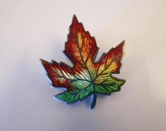 VTG Canadian Sterling Maple Leaf Red Yellow Green Reggae