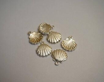 Seashell charms