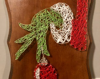 Grinch String Art