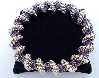 Cellini Spiral - Cellini Spiral Bracelet - Cellini Bracelet - Toho Seed Bead Bracelet - Beaded Jewellery Handmade