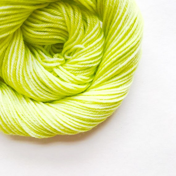 LIMELIGHT hand dyed yarn