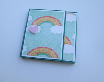 Sticky Note Holder << rainbow, post in note, sticky note, post-it