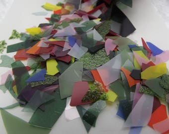 how to use glass confetti in glass fusing