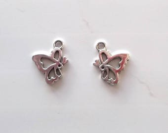 10 charms for creating jewelry Butterfly REF. 49