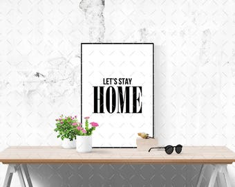 Inspirational Quote Print - Printable Quote Poster - Typography Print - Wall Art - Home Decor