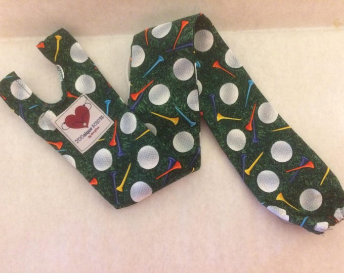 Stethoscope cover- Golf balls and Tees
