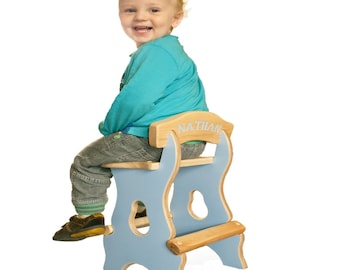 Personalised kiddies stool //children's furniture / the cutest kiddies stool and very stable