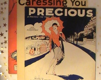 Original Sheet Music From The 1920's