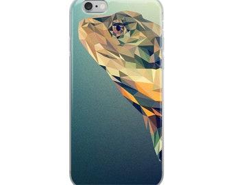 iPhone 6, iPhone 6s Plus, iPhone 6 6s Plus, iPhone 7 Plus, iPhone 8 Plus, iPhone 7, iPhone 8, iPhone X, Abstract Lizard iPhone Case