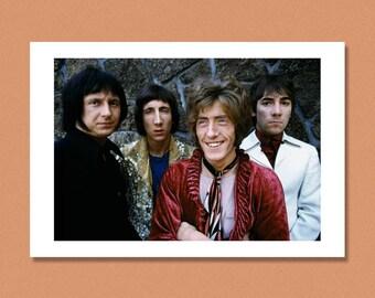 THE WHO - San Francisco, 1967 --- Mod, US Tour --- Giclée/Photo print