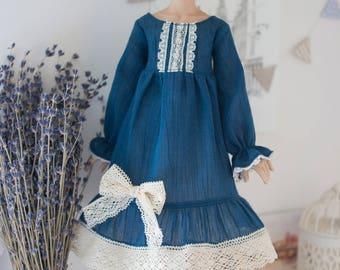 Navy Blue MSD Dress Set