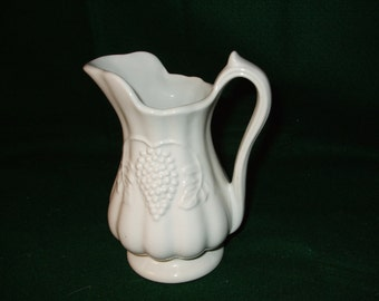 Vintage Red-Cliff China Pitcher
