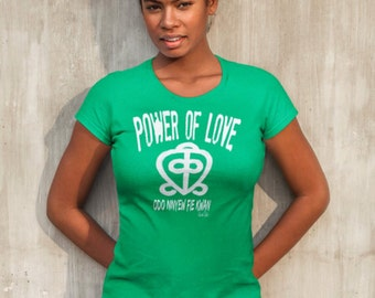 Afrocentric Clothing African American T-Shirt African Clothing Black Girl Magic Adinkra Melanin Love T-shirt Black Love Shirt Black Pride