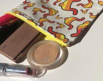 Firefly Makeup Bag - Pencil Bag - Travel Bag - Zipper Bag - Firefly Fabric Wallet - Geeky Makeup Bag - Coin Purse - Dice Bag