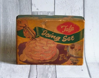 Vintage Kitchenalia Tala Icing Set No 1705
