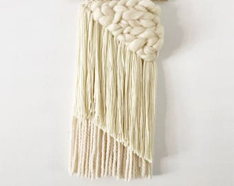 Ivory Asymmetrical Weaving