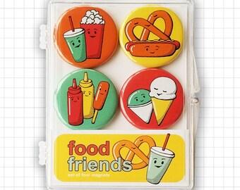 Food Friends Magnet Set