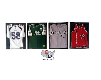 Jersey display case for football, baseball, basketball, hockey, autographed jersey -4- BE