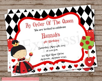 queen of hearts crazy quilted bookmark