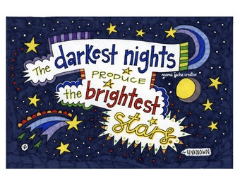 Darkest Nights, Brightest Stars