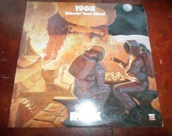 Vintage Vinyl LP Time Life Record Set 1968 Blowin' Your Mind The Rock N Roll Era Mint Condition