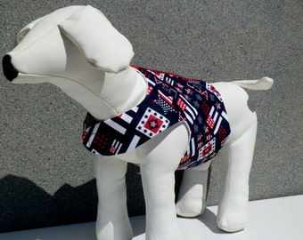 4th of July Dog Vest, Dog Harness Vest, Cat Harness Vest, Dog Clothes, Dog Clothing