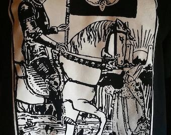 DEATH Tarot Card Shirt goth rock punk gothic cards occult