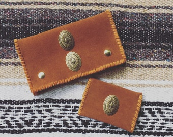The Rodeo Concho Wallet / Coin Pouch