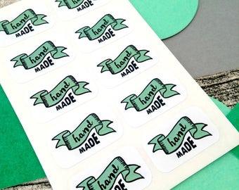 Hand made label. Label hand made. Made label hand. Made hand label. Hand label made. Banner green