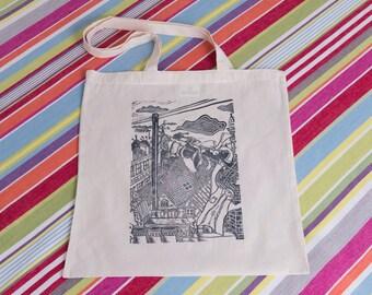 Chimney Pots and Washing Lines Tote Bag