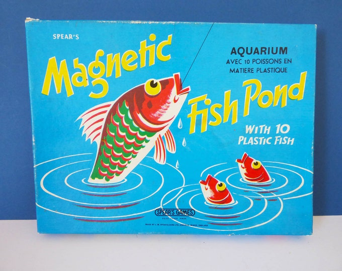 Magnetic Fish pond game by Spears