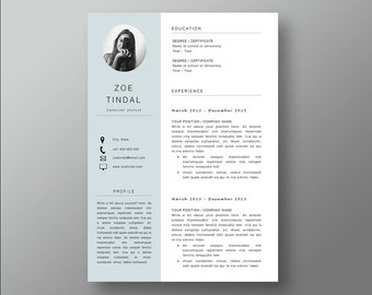Resume And Cover Letter Template | Professional Microsoft Word Resume | CV  Template | Resume Design
