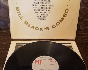 Solid and Raunchy Bill Blacks Combo Vinyl Records LP HI Records