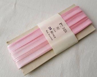 Vintage pink rayon 25 meters ref 12770