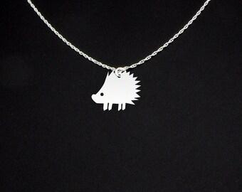 Porcupine Necklace - Porcupine Jewelry - Porcupine Gift