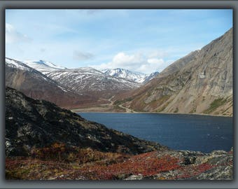 Poster, Many Sizes Available; Nachvak Fjord, Torngat Mountains, Labrador, Canada