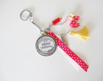 Keychain / bag charm for gift