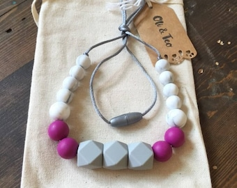 Sweet Marbles Teething Necklace, Nursing Necklace