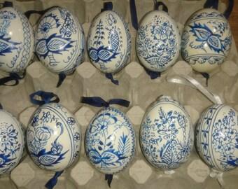 Easter Eggs Zwibelmuster