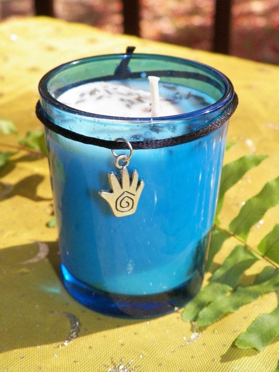 Love & Light Anti Depression Anti Stress Aromatherapy Soy Hand Made Candle