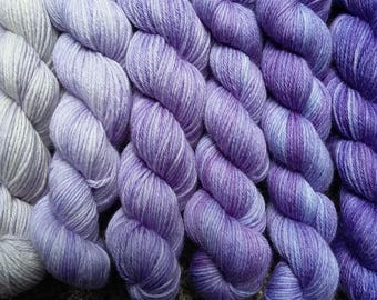 Pure Wool 4ply Gradients - 'Mulberry'