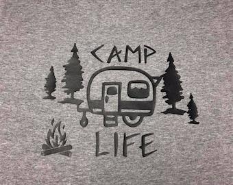 Camp Life Vintage Camper