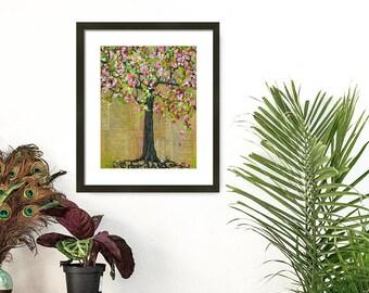 Home Decor, Wall Decor, Tree Print, Nature Art, Framed Wall Art, Tree Decor, Tree Wall Art, Nature Decor