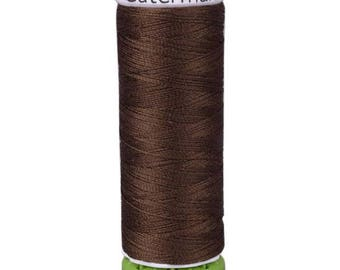 Clove Brown Gutermann Recycled Polyester Thread (GT694)
