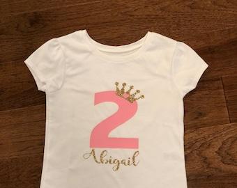 Princess Birthday t shirt
