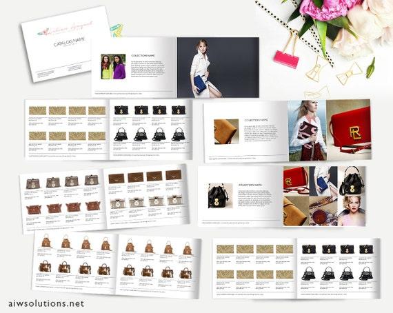Fashion Catalog template Product Catalog InDesign Catalogue