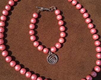 Bracelet and Necklace Combo