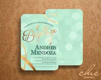 50 Baptism Invitations  50 pk